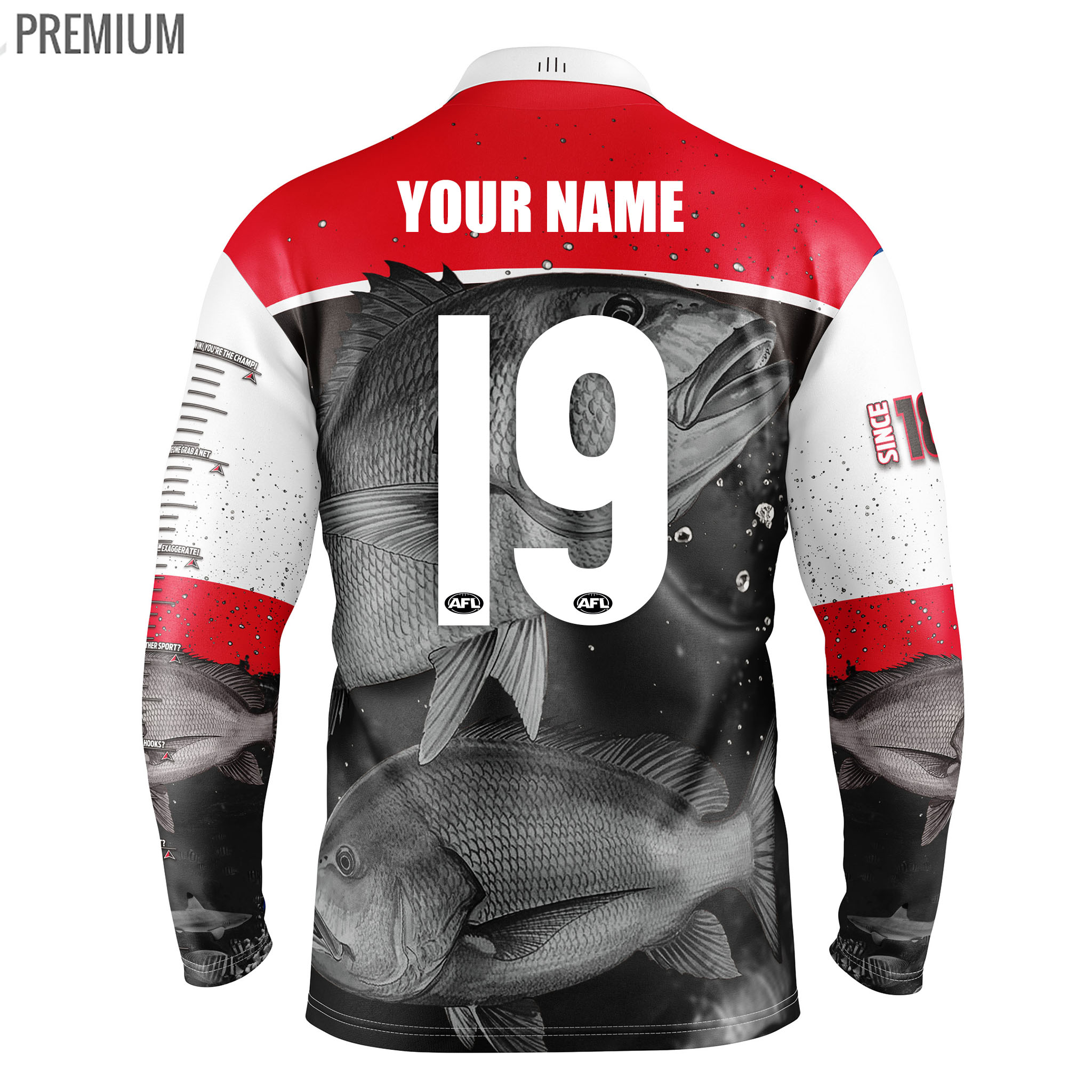 Buy 2019 St Kilda Saints Fishing Shirt Youth Fanbase Clothing