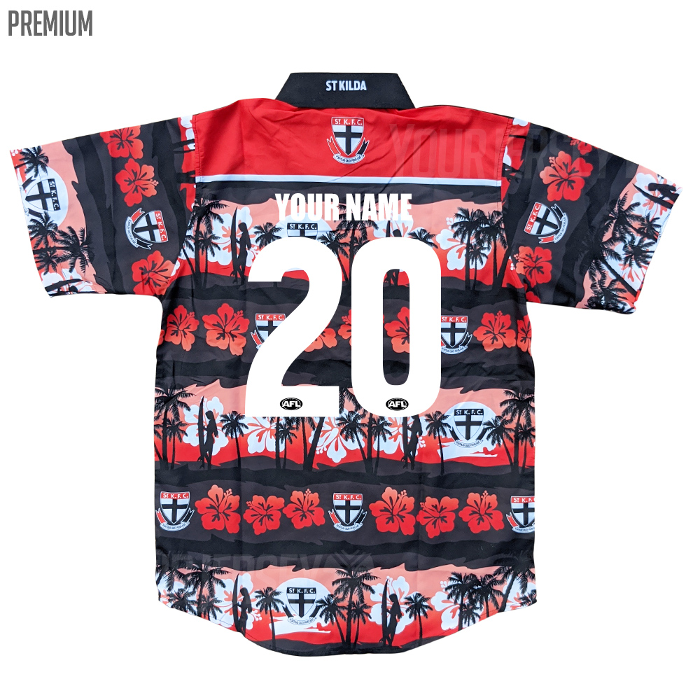 Buy 2020 St Kilda Saints Afl Hawaiian Shirt Adult Fanbase Clothing